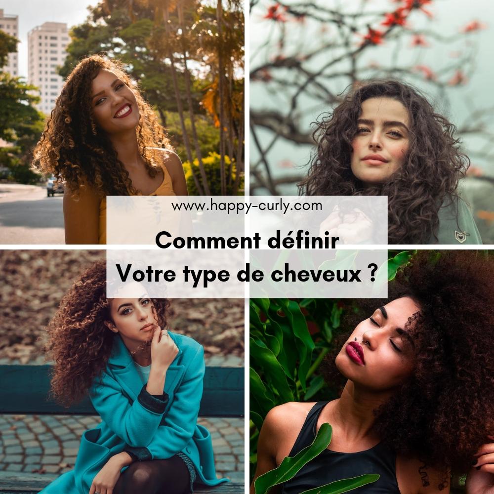Comment définir votre type de cheveux ?